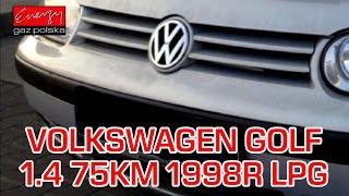 Montaż LPG Volkswagen Golf z 1.4 75KM 1998r w Energy Gaz Polska VW na gaz Stag(, 2015-11-13T10:14:58.000Z)