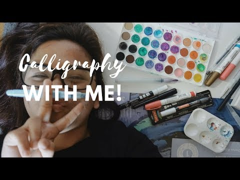 Calligraphy Session | Wedding Preparation