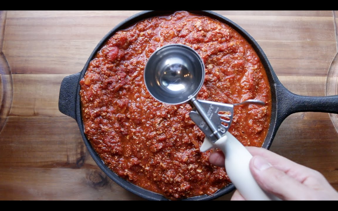 How to freeze pasta sauce | The Buddhist Chef