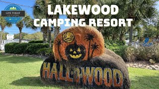 Lakewood Camping Resort HALL-O-WOOD | Rν Campground | Halloween 2020 | Myrtle Beach South Carolina