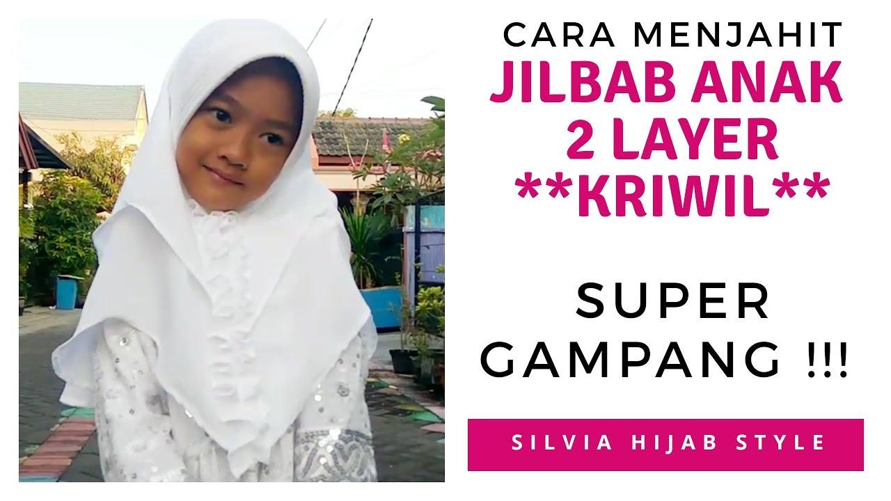 Cara Menjahit Jilbab Bergo Tali Jilbab Bergo Maryam Pashmina Jadi Jilbab Couple Youtube