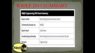 WBJEE Entrance Exam