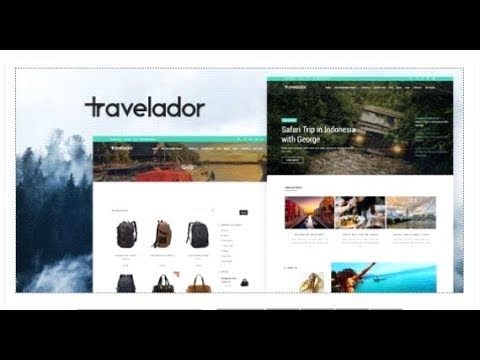 Travelador - Blog Travel & Agency Joomla Template with Page  | Themeforest Templates thumbnail