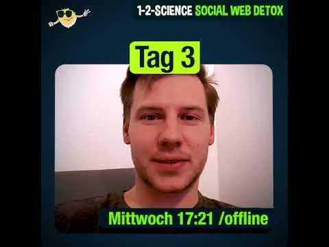 1-2-SCIENCE Social Web Detox Tag 3
