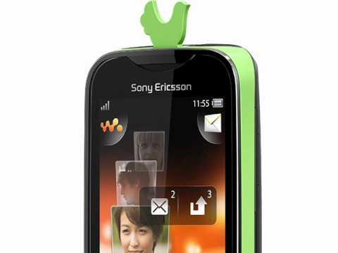 Sony Ericsson Mix Walkman and txt pro