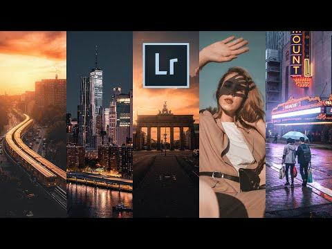 Обработка фото в один клик с помощью крутейших LIGHTROOM пресетов!