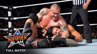 FULL MATCH - Roman Reigns vs. Randy Orton: SummerSlam 2014