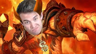(Hearthstone) A Golden God