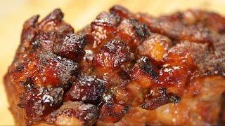 Slow Roasted Honey Glazed Pork