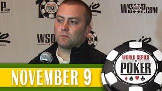 William Tonking fica em 4° no ME da WSOP 2014