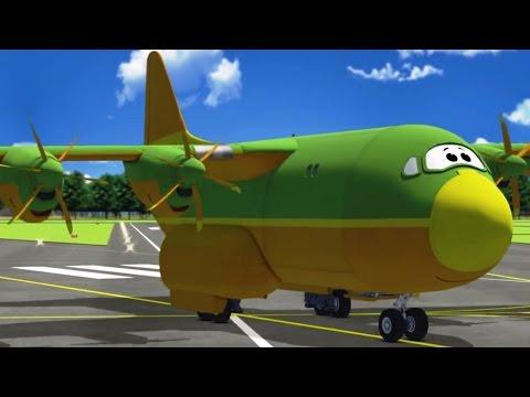 Airplane Cartoon For Kids - The Airport Diary - Gugu On Vacation (cartoon 68)
