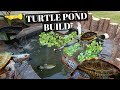 ULTIMATE DIY Turtle Pond BUILD!!!