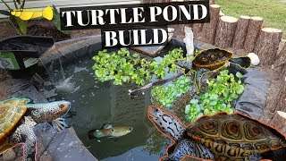 Video ULTIMATE DIY Turtle Pond BUILD!!! download MP3, 3GP, MP4, WEBM, AVI, FLV Oktober 2018
