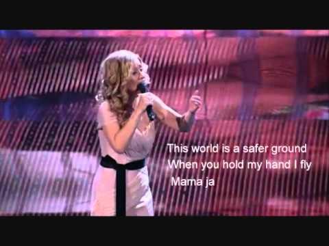 Lara Fabian.  Mama.  with lyrics.
