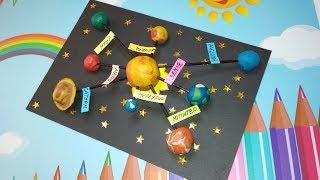 як зробити макет сонячної системи в домашніх умовах