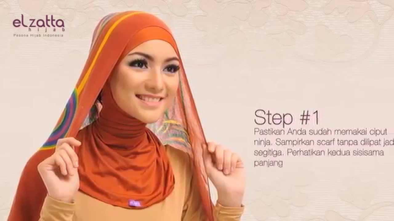 Hijab Tutorial Ala Citra Rumana Kirana 2014 Elzatta Hijab