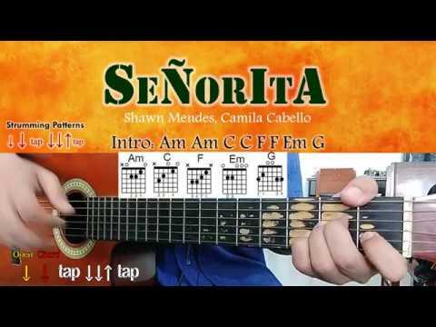 Señorita – Shawn Mendes, Camila Cabello – Guitar Chords – learn how