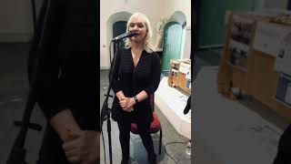 Claire Malone Ceremony singer sings popular wedding song 'Your Song'  2019