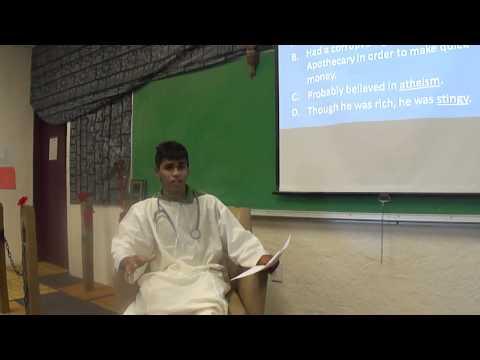 Dr. Ben featuring: Canterbury Tales Pilgrims!