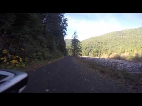 Take a virtual ride on Mount Rainier's old Carbon River Road