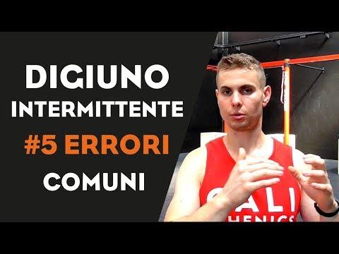 Digiuno intermittente: lo stai facendo nel modo sbagliato. 5 errori comuni | Cristian Moletto