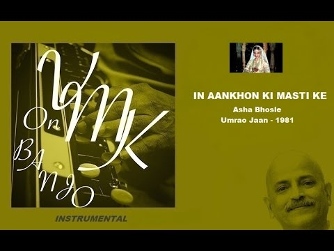 In Aankhon Ki Masti Ke Hindi Instrumental Cover on Banjo Bulbul Tarang