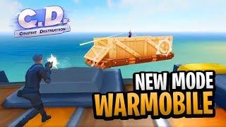 nuevo modo warmobile en cd🔥 creative destruction fortcraft polgames gameplay en español