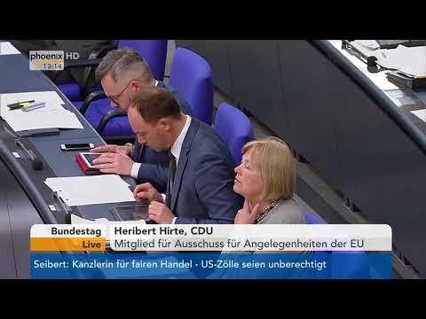 Aktuelle Stunde zur Überführung des ESM in einen europäischen Währungsfonds am 20.04.18