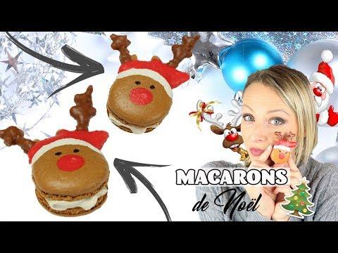 ♡•-recette-macarons-de-noËl---petits-cerfs-•♡