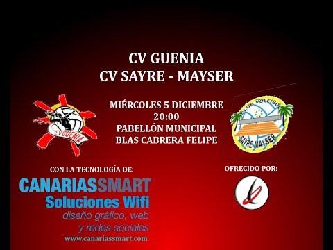 Voleibol: CV Guenia - CV Sayre