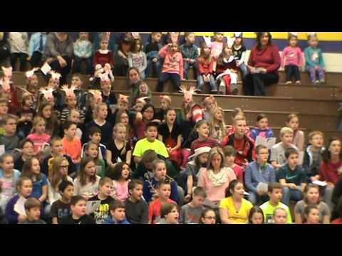 Onsted Elementary School Holiday Sing-A-Long 12-21-2015