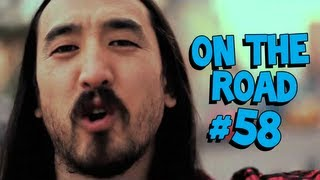 Steve Aoki In South America March/April 2013 - On The Road #58