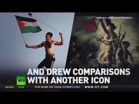 New Resistance Icon: Photo of Gaza protester goes viral over French Revolution comparison