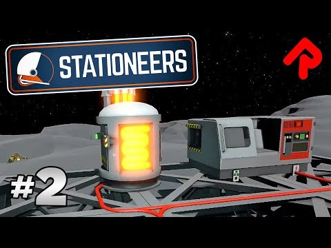 Wiring Stable Power Supply for Smelting & Crafting | Let's play Stationeers gameplay ep 2 (PC alpha)