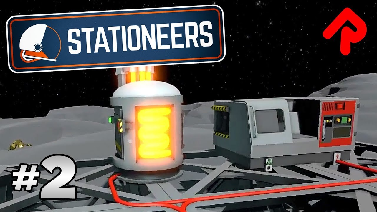 Wiring Stable Power Supply For Smelting Crafting Lets Play Stationeers Gameplay Ep 2 Pc Alpha Station In Starbound