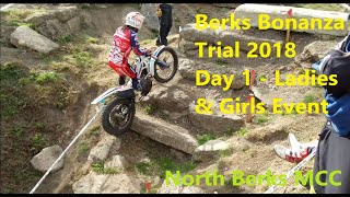 Berks Bonanza SuperTrial - Ladies Class - 18 08 18 North Berks MCC