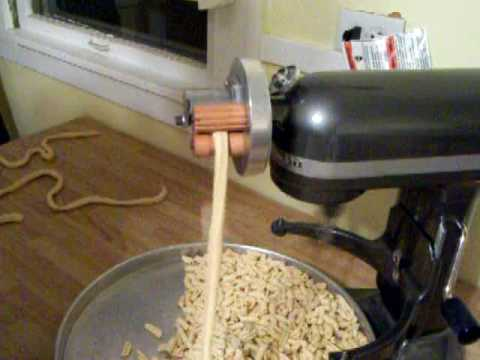 Pt 2 Homemade Cavatelli Using My Home Built Kitchenaid