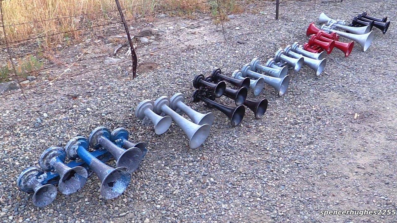 Train Horns On Truck