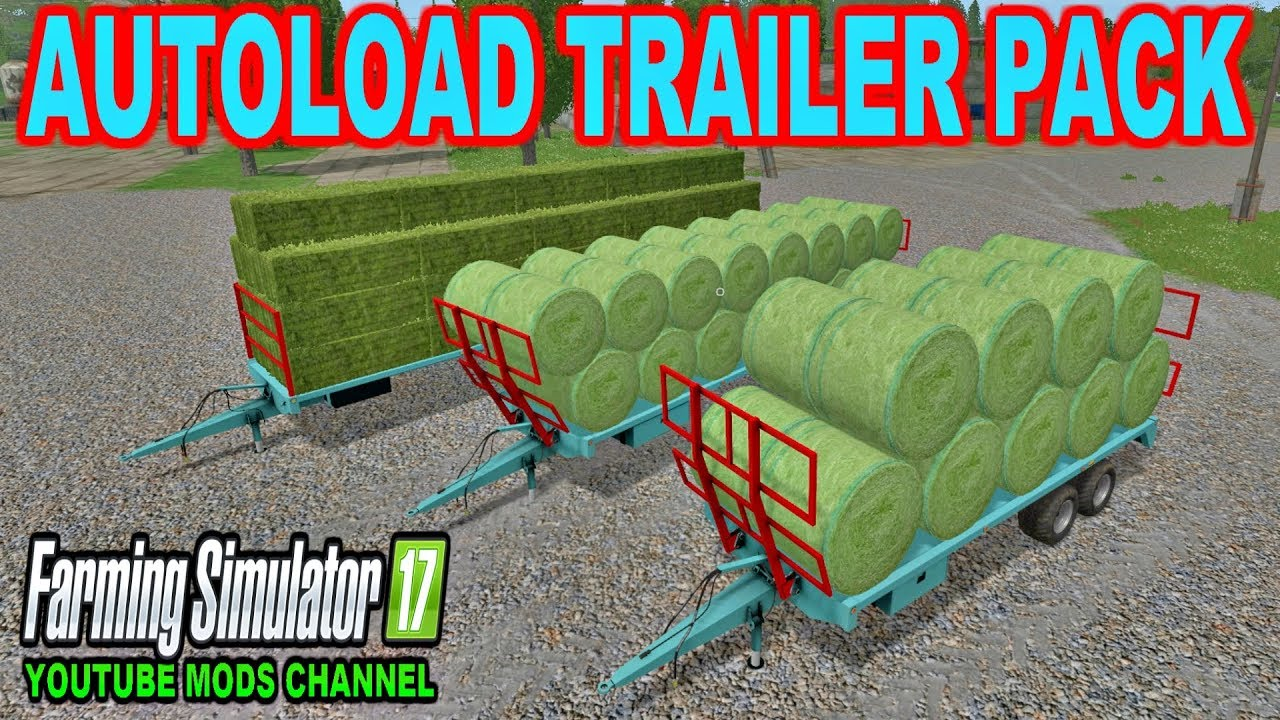 Repeat Farming Simulator 2017 AUTOLOAD TRAILER PACK PLATEAUX LAIR by