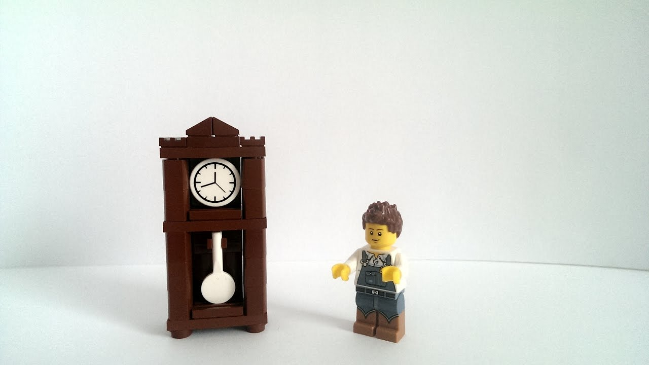 Standuhr Digital Lego Tutorial Uhr Standuhr Deutsch