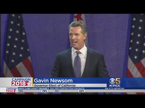 ELECTION 2018: Gavin Newsom Elected Governor Of California