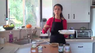 Salted Almond Butter Cup Fudge With Master Live Food Chef Chaya Ryvka