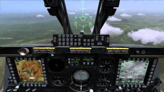 DCS A-10C Warthog - Basic Laser Guided Bomb Delivery