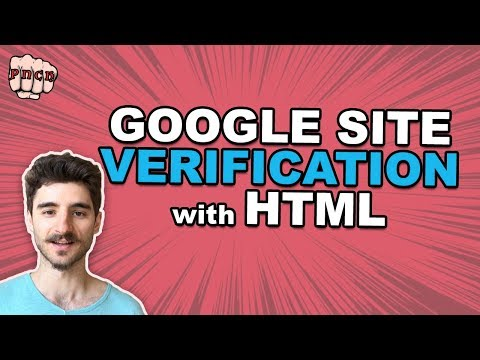 Google Site Verification With HTML File Upload (Search Console)