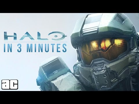 Entire Halo Story in 3 Minutes (Halo Animation)
