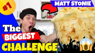 The BIGGEST Matt Stonie Eating Challenges