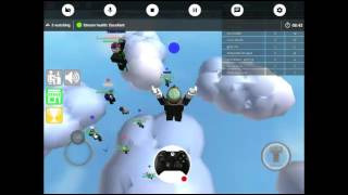 playing ROBLOX and clash Royale