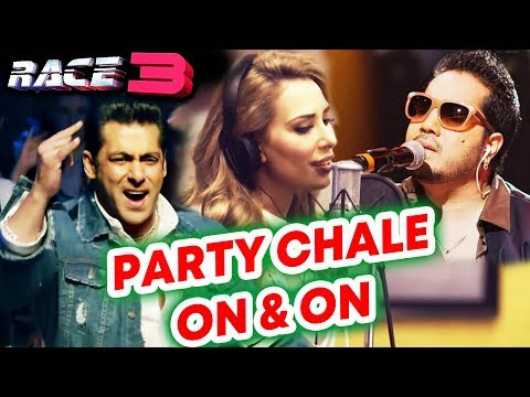 Party Chale On N On Song में Mika Singh और Iulia Vantur का तड़का | RACE 3 | Salman Khan