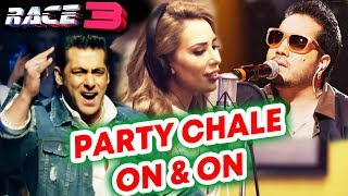 Party Chale On N On Song में Mika Singh और Iulia Vantur का तड़का | RACE 3 | Salman Khan