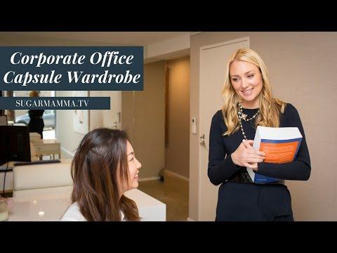 Capsule Wardrobe Fashion - Corporate Office Style